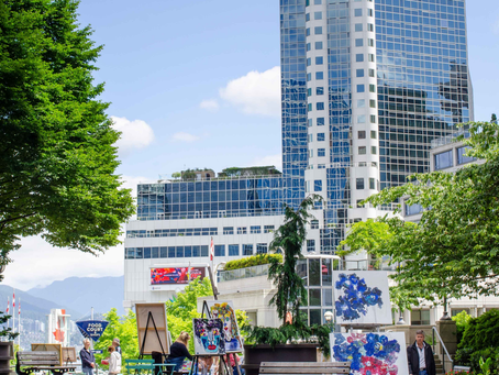 Art Downtown is Transforming Vancouver's Public Spaces