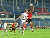 10-man SCEB suffer 1-2 defeat against NEUFC in season's final home match