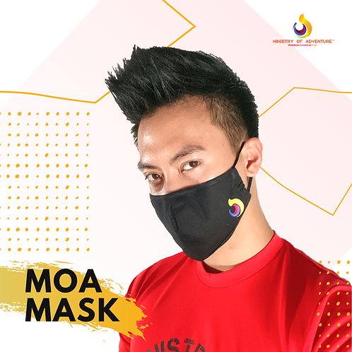 MOA 3D Reusable Mask (LIMITED EDITION)