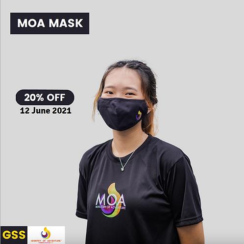 MOA Black Eagle Face Mask