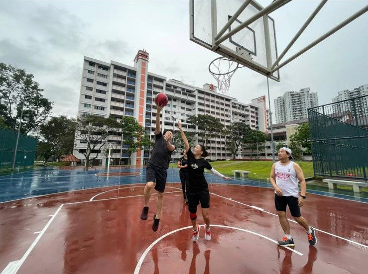 Let's Play Basketball (5 Pax)
