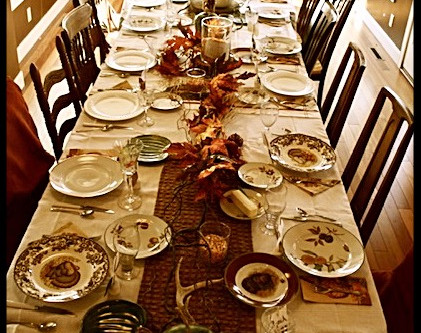 Countdown to Thanksgiving: Seven Ways in Four Days to Help Make Your Thanksgiving a Celebration.