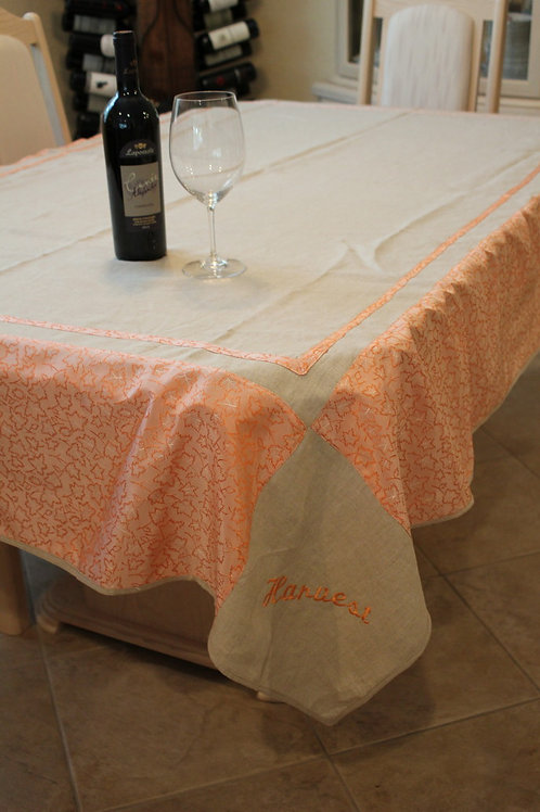 Linen Fall Table Cloth