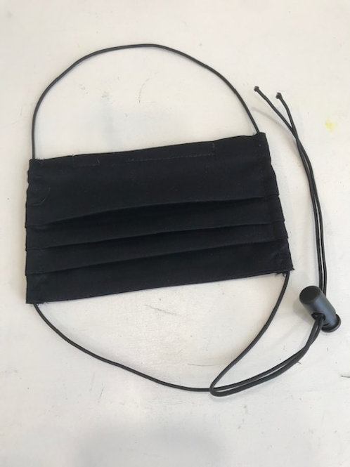 Reusable Face Mask with Adjustable Elastic Cord
