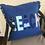 Thumbnail: Blue Beach Outdoor Throw Pillow Large