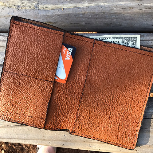 Leather passport holder / wallet