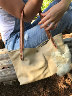 Fur and Leather Purse