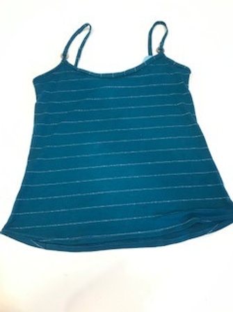 Womens Teal Knit camisole