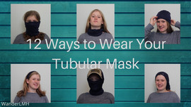 Ways to wear tubular bandannas