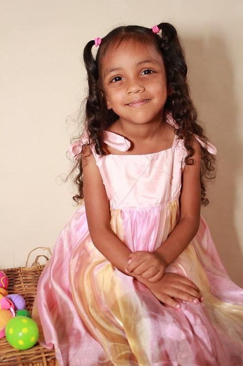 Silky Pink Dress