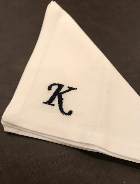 Embroidery & Monogram Available