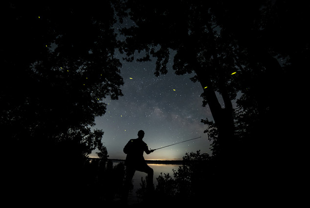 Fishing the Cosmos
