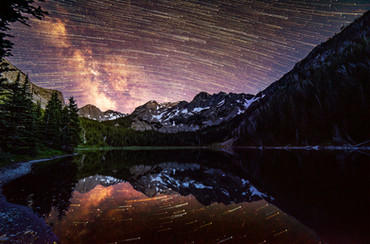 Milky Way in the Mirror