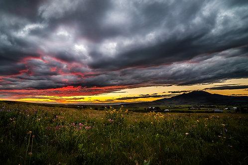 Mt. Ellis Sunset