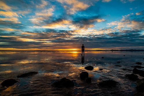 Sunset at Mirror Marsh