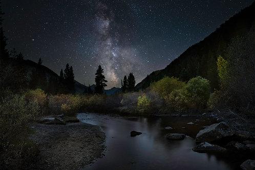 Autumn Nights on Spanish Creek