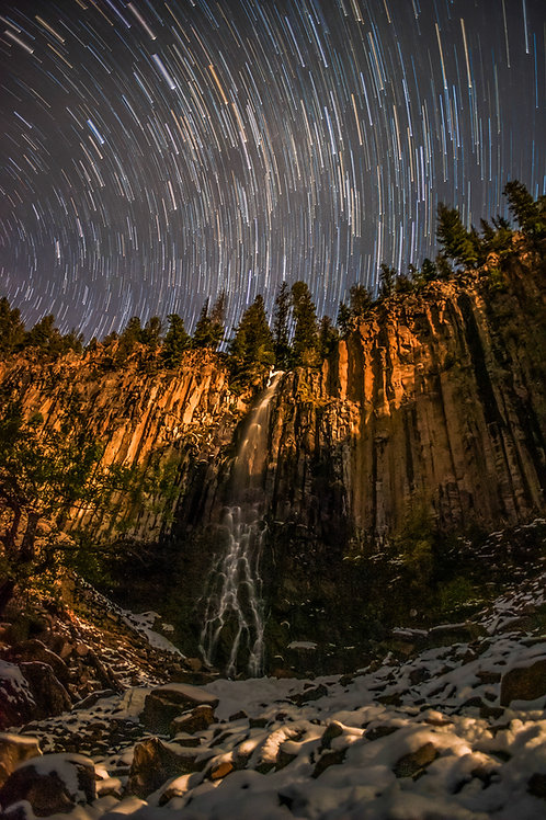 Starry Night Over Palisade Falls