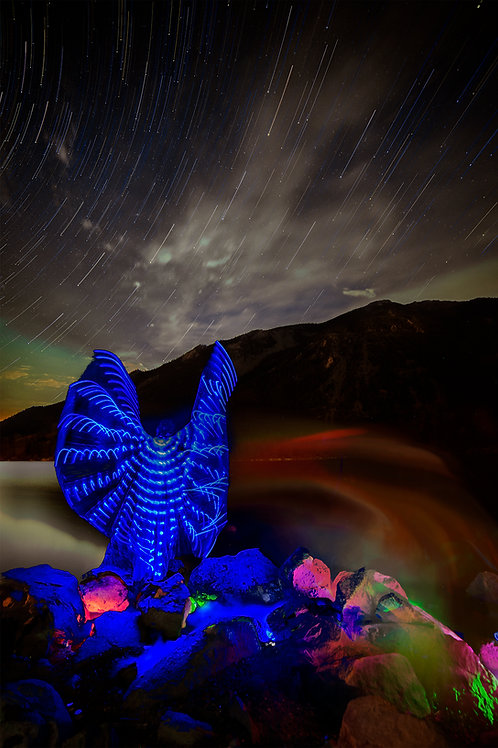 Chromatic Aura of the Rocky Mountain Nymph