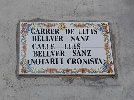 CALLE LUIS BELLVER SANZ