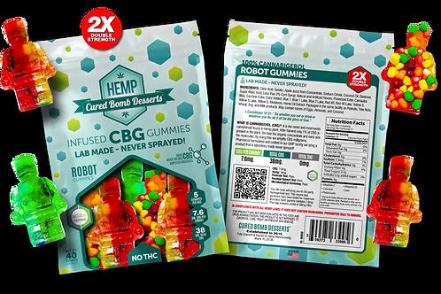 Cured Bomb CBG gummies