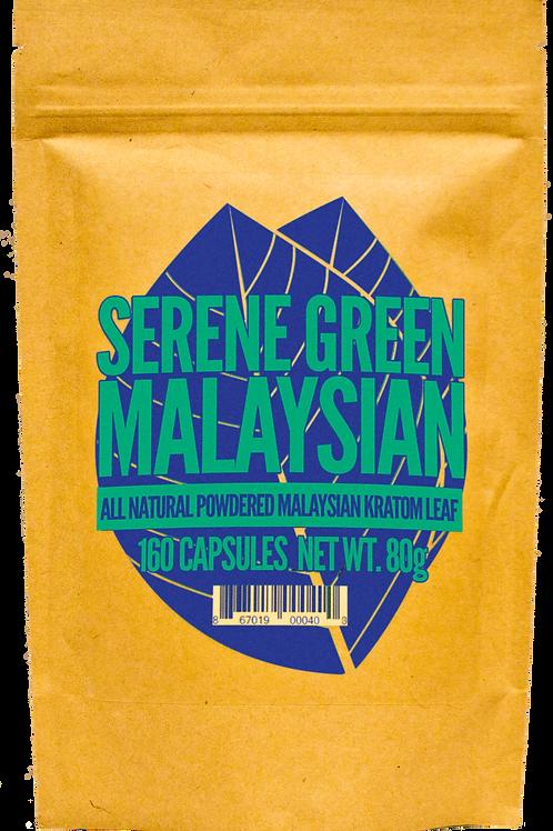 SERENE GREEN MALAYSIAN CAPSULES