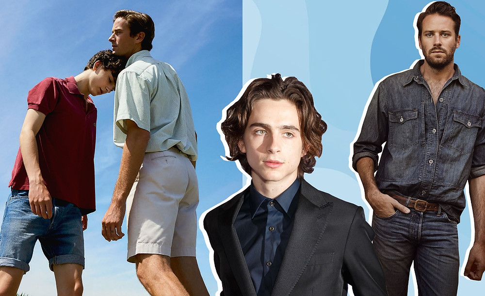 Armie Hammer and Timothée Chalamet
