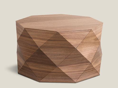 Diamond Wood American Walnut Large Table