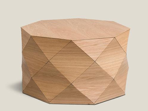 Diamond Wood Oak Large Table