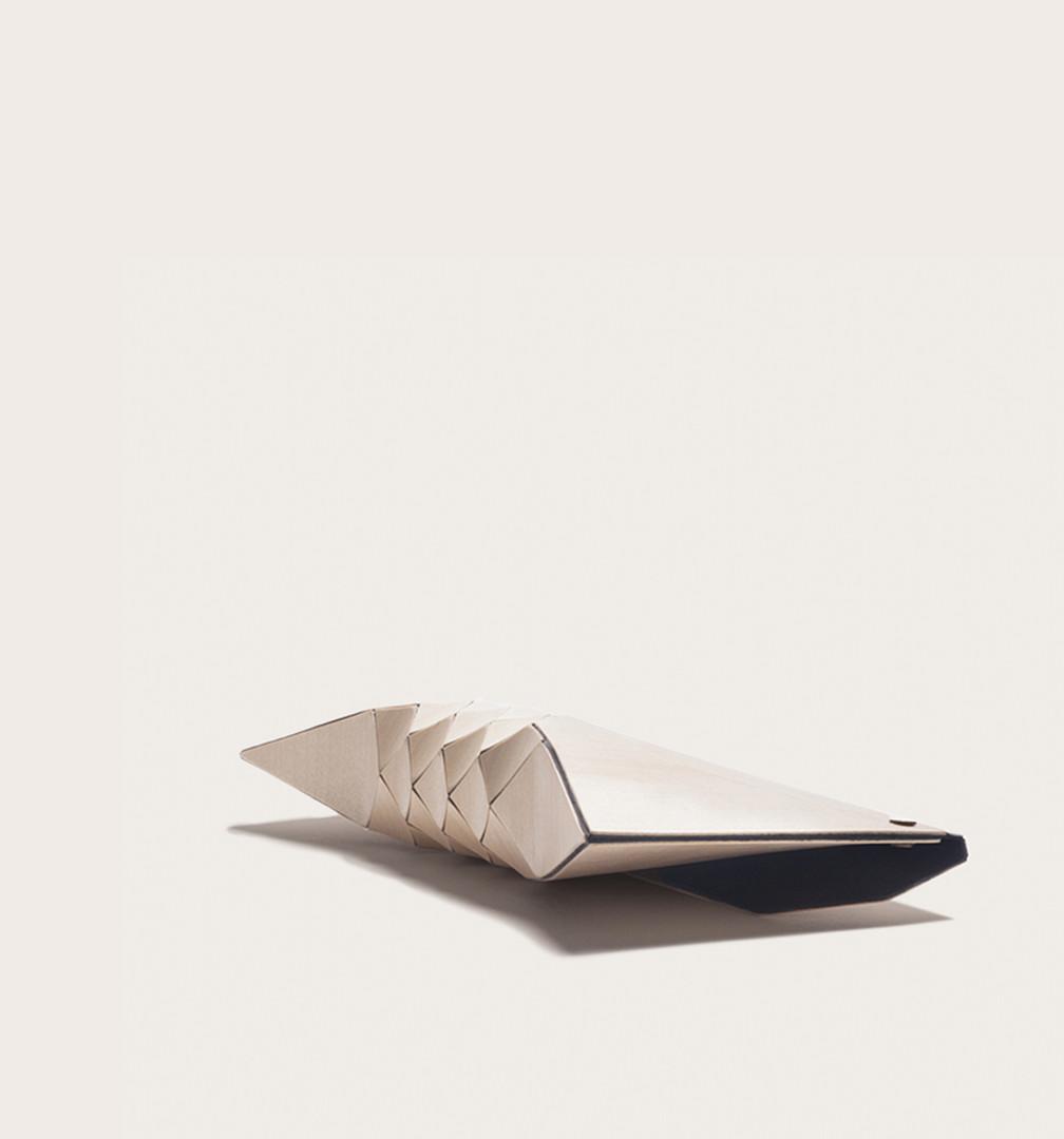 Creme clutch aka Ivory, wood purse, wood clutch, wooden clutch, wooden purse, wooden textiles, wood textiles