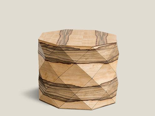 Diamond Wood African Walnut Medium Table
