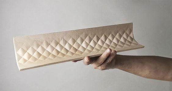 3D wood textiles
