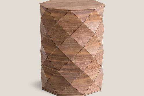 Diamond Wood American Walnut High Table