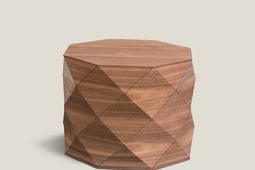 Diamond Wood American Walnut Medium Table