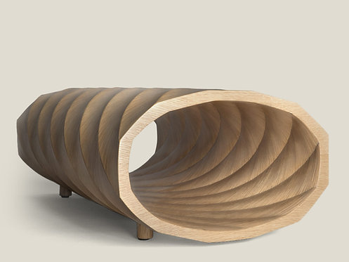 Twisted Chaise