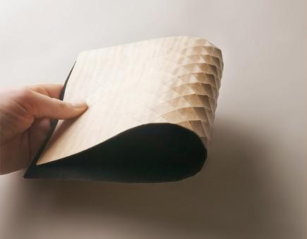 2.5 cm grid textile
