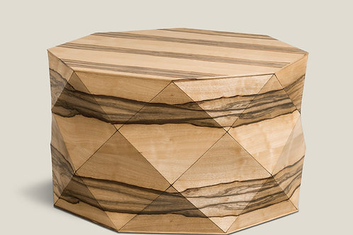 Diamond Wood African Walnut Large Table
