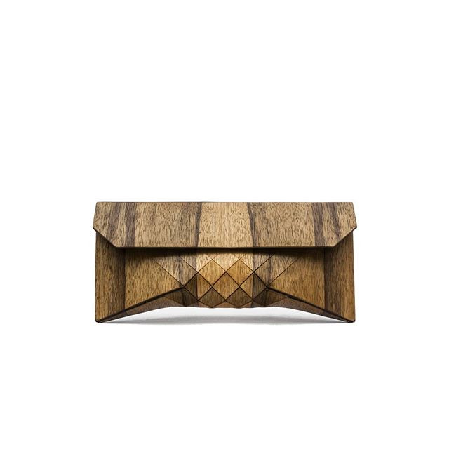 African wood clutch, wood bag, wooden bag, wood purse