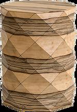 DIAMOND WOOD COFFEE TABLE