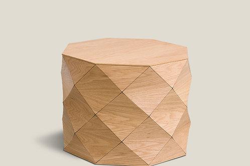 Diamond Wood Oak Medium Table