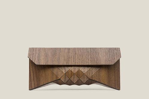 Americano wood clutch