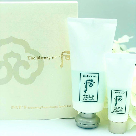 Home / The History of Whoo Brightening Foam Cleanser The History of Whoo Bright