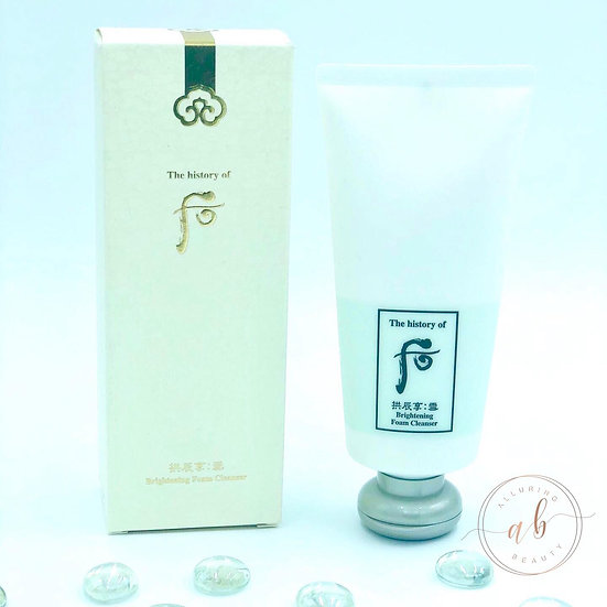 The History of Whoo Brightening Foam Cleanser