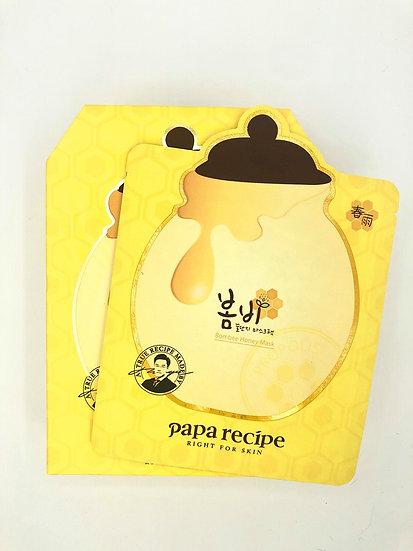 Papa Recipe Bombee Honey Mask Pack (10pcs)