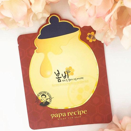 Papa Recipe Bombee Ginseng Red Honey Oil Mask (1pcs)