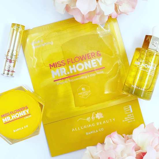 BANILA CO - Miss Flower Mr. Honey 4 Pcs Special Set