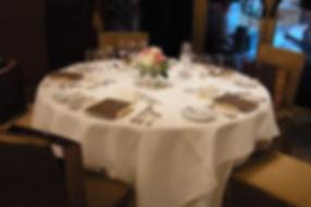 テーブル装花デザイン