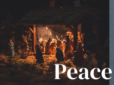 Christmas is different - but Christ is the same: PEACE