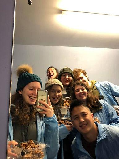 Oxford Brookes Christian Union (CU) club outreach team