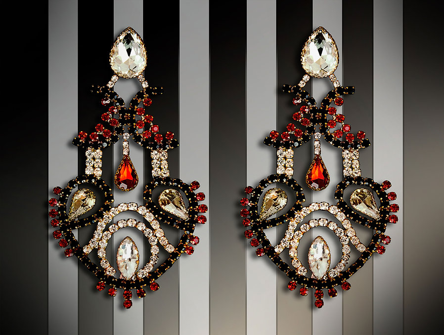 Royal-jewelry-earrings-handmade-by-MissM