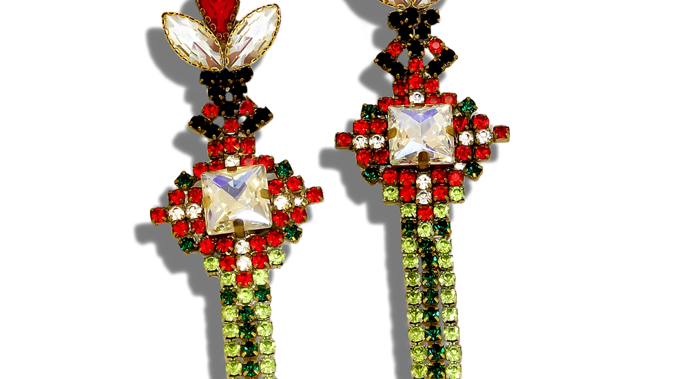 Unique Bulgarian Ethno Earrings